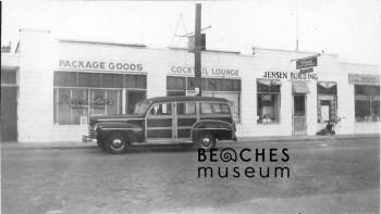 Historic Pete's Bar – First Street Neptune Beach, 1948