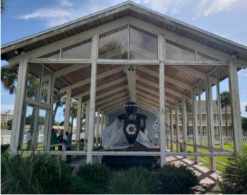 The 2019 Train Enclosure Project